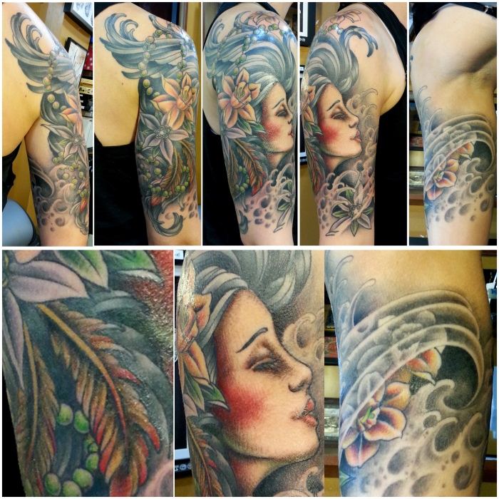 girlhead sleeve